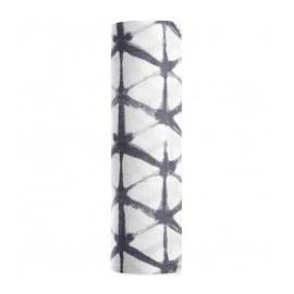 1 lange Mousseline de coton 120 x 120 cm