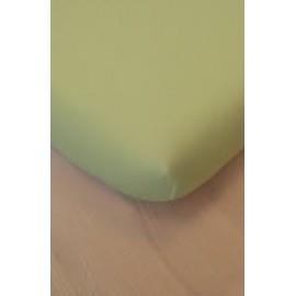 Drap housse coton bio 60 x 120 cm Vert