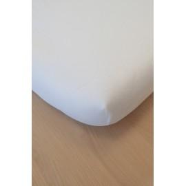 Drap housse coton bio 40 x 80 cm Blanc