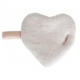 Doudou cœur à cœur