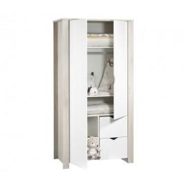 Armoire Tipee 2 portes + 2 tiroirs