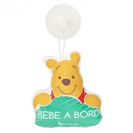 Bébé à bord Winnie l'ourson
