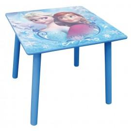 Table carrée Reine des Neiges