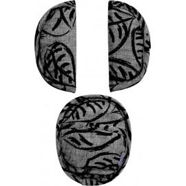 Protection universelle Dooky original pour harnais Feuilles grises