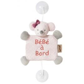 Bébé à bord Adèle & Valentine Souris