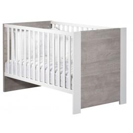 Lit évolutif Little big bed Loft bois 70 x 140 cm
