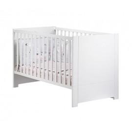 Lit évolutif Little big bed Loft blanc 70 x 140 cm