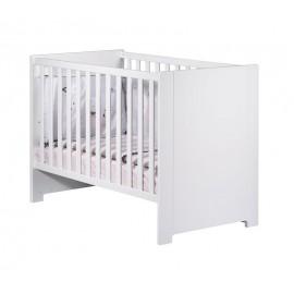 Lit bébé Loft blanc 60 x 120 cm