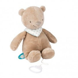 Peluche musical Basile l'Ours