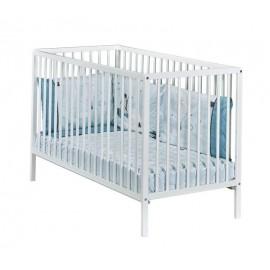 Lit bébé blanc 60x120 Basic
