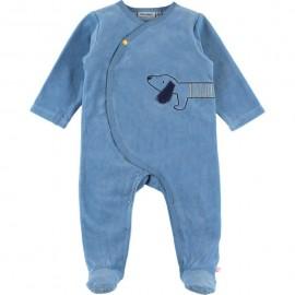 Pyjama Velours Naissance A&J