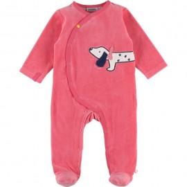 Pyjama Velours 1 mois A & Z