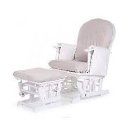 Housse de coussin gris pour fauteuil à bascule