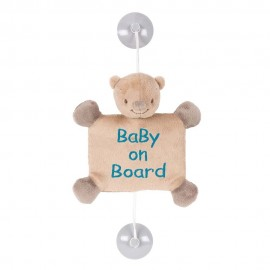 Mia & Basile baby on board ours