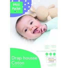 DRAP HOUSSE COTON SOFT 70X140
