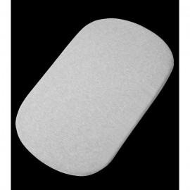 Lot de 2 draps blanc/gris pour cododo Iora