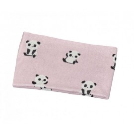 Couverture Maille Chao Chao Rose 80x100cm