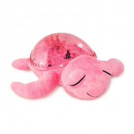 Veilleuse Musical Tortue Rose
