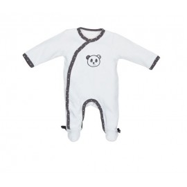 Pyjama Velours Chao Chao 1 mois