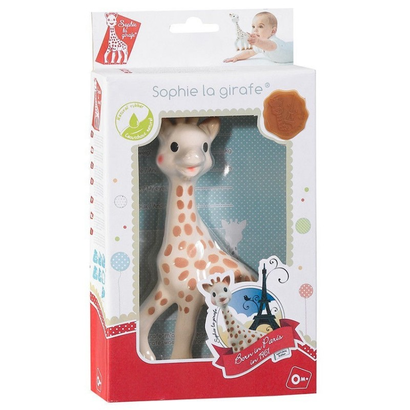 Boite cadeau Sophie La Girafe