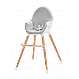 Chaise Haute Fini 2 en 1 Grey Hêtre
