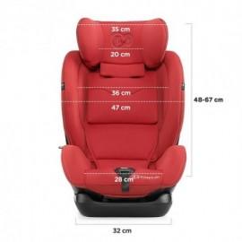 Siège Auto Isofix Myway Grey 0-36 kg