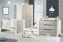 Chambre bébé Loft bois
