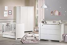 Chambre bébé Loft blanc
